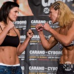 Carano Cyborg Weigh In
