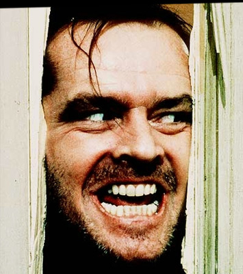 the horrifying character of jack torrance in the film the shining by stephen king Stanley kubrick's annotated copy of stephen king's the shining in film  according to king, the character of jack is supposed to descend deeper into madness,.