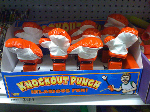Post image for I Need This Knockout Punch Toy!