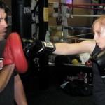 Jenny Boxing