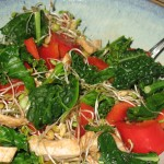 Watercress and Kale salad