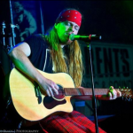 Chad as Axl Rose