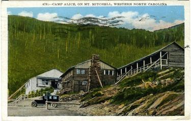 Old postcard of Camp Alice