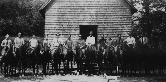 The Biltmore Forestry School. Photo from the Forest History Society