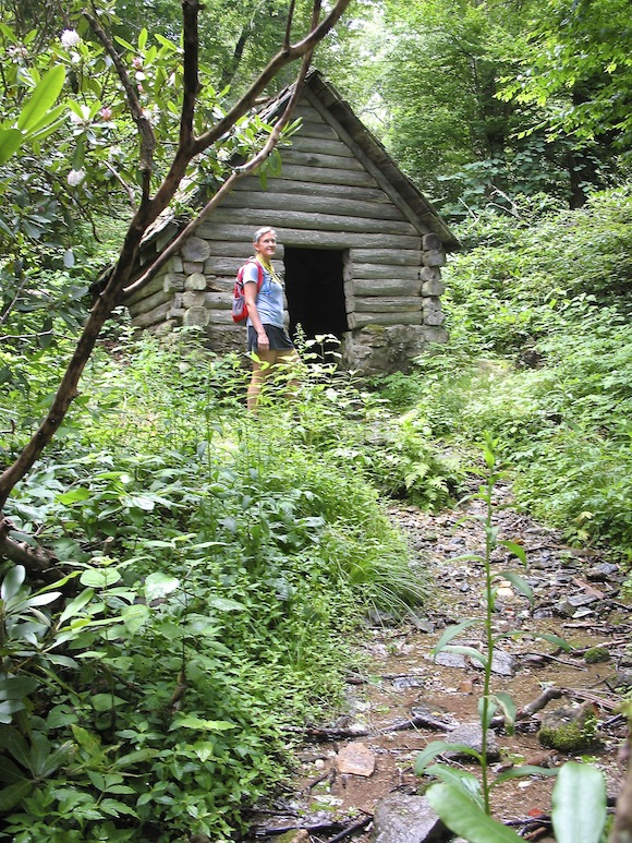 We finally found the springhouse!